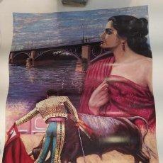 Coleccionismo: LAMINA DE CURRO ROMERO - PEÑA TAURINA. Lote 213542660