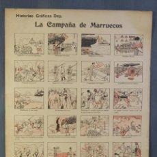 Coleccionismo: AUCA LA CAMPAÑA DE MARRUECOS-EDITORIAL DEP. BARCELONA. Lote 213554565