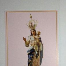 Coleccionismo: ESTAMPA RELIGIOSA NOSSA SENHORA MÃE DOS HOMENS. PORTUGAL. Lote 213577767