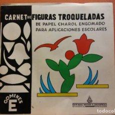 Collezionismo: CARNET DE FIGURAS TROQUELADAS DE PAPEL CHAROL ENGOMADO. GOMINES E. EDITORIAL MIGUEL A SALVATELLA. Lote 213630796