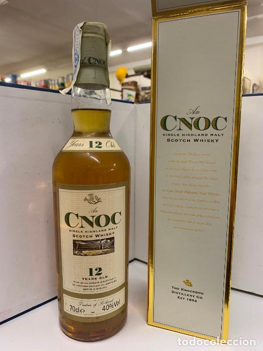 CNOC SCOTCH WHISKY 12 YEARS OLD, 0,7LT, EN CAJA ORIGINAL, PRECINTADO E IMPECABLE (Coleccionismo - Varios)