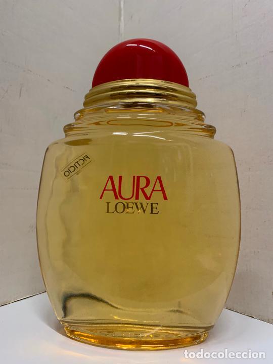 Coleccionismo: Enorme botella de perfume FICTICIA, LOEWE - AURA - Dificil de encontrar. Leer mas.. - Foto 8 - 213655637