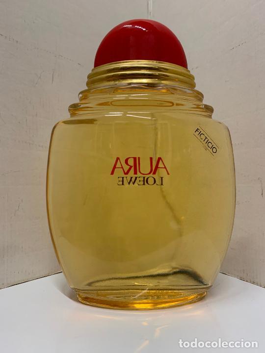 Coleccionismo: Enorme botella de perfume FICTICIA, LOEWE - AURA - Dificil de encontrar. Leer mas.. - Foto 9 - 213655637