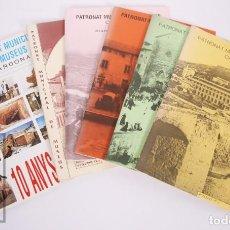 Colecionismo: CONJUNTO DE 6 BOLETINES DEL PATRONAT MUNICIPAL DE MUSEUS, CARDONA - Nº 2, 3, 5, 6, 7 Y 8, AÑOS 80-90. Lote 213762326