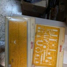 Coleccionismo: ROTRING - 3 PLANTILLAS DIBUJO TECNICO - SIN USO / NUEVO. Lote 213805037