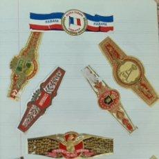 Coleccionismo: COLECCION DE 156 VITOLAS DE TABACO. VARIAS MARCAS. LA HABANA. CUBA. SIGLO XX.. Lote 213859311
