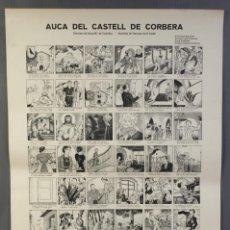 Coleccionismo: AUCA DEL CASTELL DE CORBERA -IMP A.ORTEGA.BARNA- DIB.J.Mª DE CASTELLAR- ROD. DE FRANCESC DE B.LLADÓ. Lote 213961398