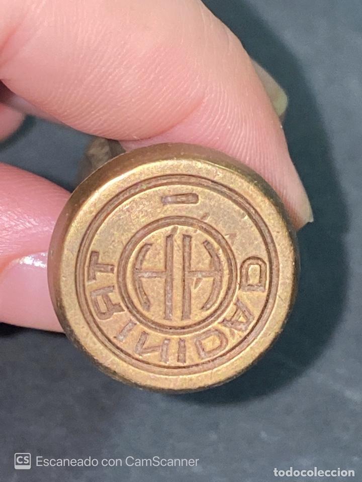 Coleccionismo: SELLO EN PLATA DE LA CASA TRINIDAD Y HERMANOS. CUBA. PERFECTO ESTADO. VER FOTOS - Foto 4 - 214075423