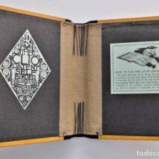 Coleccionismo: BLOC AÑOS 1930 PARA INCORPORAR PUBLICACIONES PATENTE HOLANDESA PERO COMERCIALIZADO EN INGLATERRA. Lote 214093271