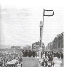 Coleccionismo: GIJÓN: LÁMINA DE LA ESCALERONA EN LOS AÑOS 1933-34. Lote 214201651