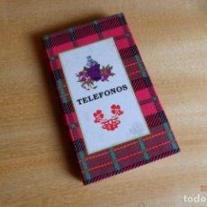 Coleccionismo: AGENDA DE TELÉFONOS DE BOLSILLO.. Lote 214296811
