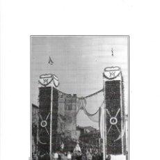 Coleccionismo: GIJÓN: LÁMINA DE UNA FESTIVIDAD EN LA PLAZA DEL MARQUÉS ( 1939 ). Lote 214539307