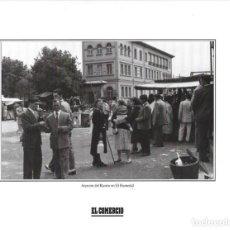 Coleccionismo: GIJÓN: LÁMINA DEL RASTRO EN EL HUMEDAL. AÑOS 1950.. Lote 214539937