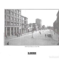 Coleccionismo: GIJÓN: LÁMINA DE LA CALLE ÁLVAREZ GARAYA EN 1946. Lote 214540396