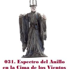 Coleccionismo: EL SEÑOR DE LOS ANILLOS. FIGURA DE PLOMO Nº 31 ESPECTRO DEL ANILLO. CON CAJA.. Lote 214816487