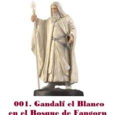 Coleccionismo: EL SEÑOR DE LOS ANILLOS. FIGURA DE PLOMO Nº 1 GANDALF EL BLANCO. CON CAJA.. Lote 214817961