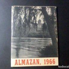 Coleccionismo: ALMAZÁN, PROGRAMA DE FIESTAS 1966. Lote 215195137