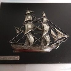 Coleccionismo: CUADRO BERGANTÍN ''US, NAVY'' 1778. MADE IN SPAIN.. Lote 215268467