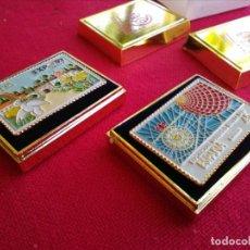 Coleccionismo: SELLOS METÁLICOS EXPO 92. Lote 215720675