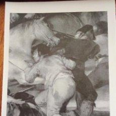 Coleccionismo: EL 2 DE MAYO DE 1808 EN LA PUERTA DEL SOL (DETALLE). GOYA. MUSEO DEL PRADO. 25X18 CM. Lote 216700112