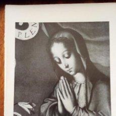 Coleccionismo: LA ANUNCIACIÓN (DETALLE). LUIS DE MORALES. MUSEO DEL PRADO. 25X18 CM.. Lote 216702082