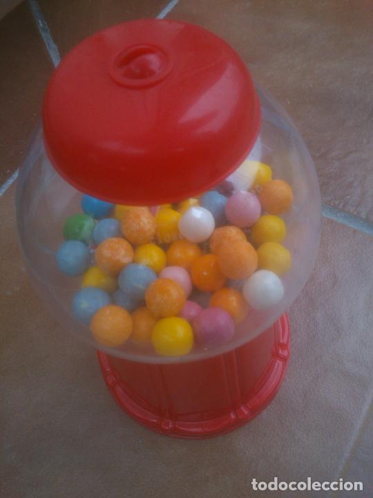 Coleccionismo: Máquina dispensadora de chicles bola Dubble bubbe funciona muy buen estado - Foto 3 - 217053076