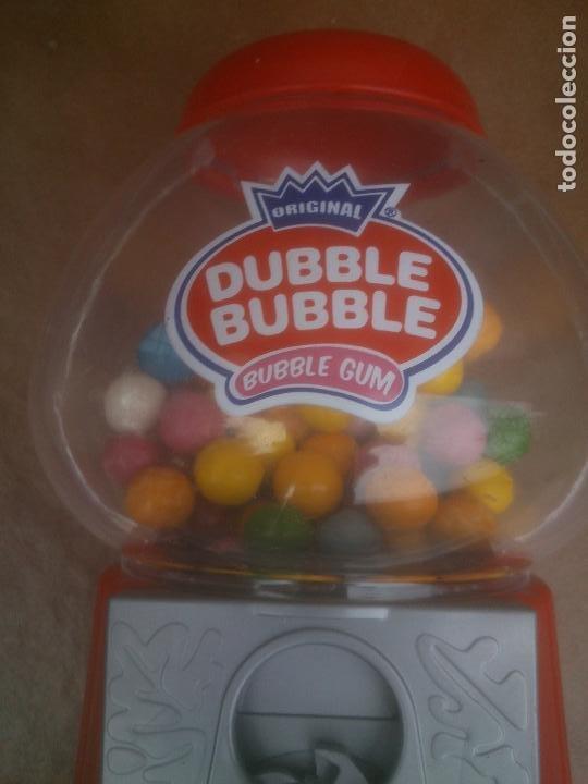 Coleccionismo: Máquina dispensadora de chicles bola Dubble bubbe funciona muy buen estado - Foto 4 - 217053076