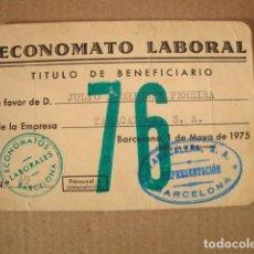 Coleccionismo: TABACALERA. Lote 217152347