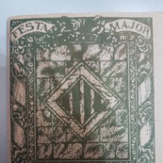 Coleccionismo: PROGRAMA FESTA MAJOR SANT FELIU DE CODINES 1934. Lote 217559878