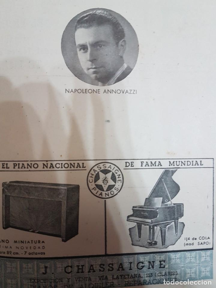 Coleccionismo: ÚNICO!!! PROGRAMA GRAN TEATRO DEL LICEO EL AMIGO FRITZ - 1942 - Foto 6 - 217563331