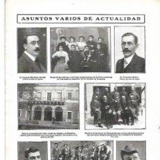 Coleccionismo: AÑO 1909 BONANZA PALACIO CONDE DE ALDAMA CEDIDO HOSPITAL HERIDOS GUERRA MEDICOS SAN LUCAR BARRAMEDA. Lote 217642505
