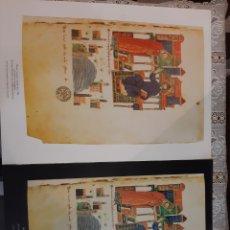 Coleccionismo: LAMINAS PINTURA ROMÁNICA XI CODEX EDICIONES ENCUENTRO P 43 X30 DOS. Lote 217691616