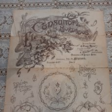 Coleccionismo: BORDADOS FERRER ROSELL BARCELONA ALGODÓN CRUZ PARIS. Lote 217693830