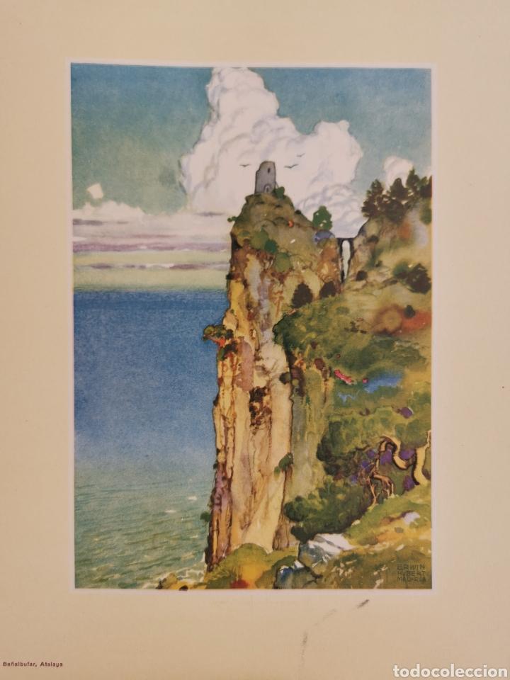 Coleccionismo: 5 láminas de Erwin Hubert - Foto 6 - 217919450