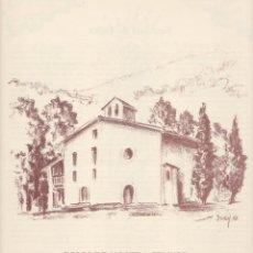 Coleccionismo: GOIGS DE NOSTRA SENYORA DE PALLER - PATRONA DE LA VILA DE BAGÀ - 1998. Lote 218410916