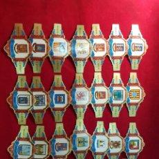 Coleccionismo: 25 VITOLAS. ESCUDOS PROVINCIAS DE ESPAÑA. CAPOTE.. Lote 218766981
