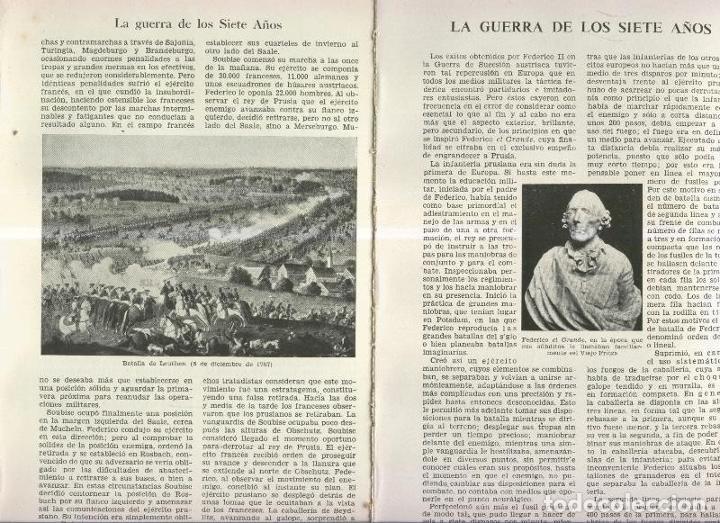 LA GUERRA DE LOS SIETE AÑOS (Coleccionismo - Laminas, Programas y Otros Documentos)