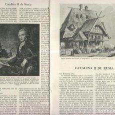 Coleccionismo: CATALINA II DE RUSIA. Lote 218781506