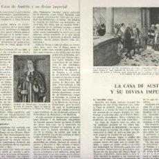 Coleccionismo: LA CASA DE AUSTRIA Y SU DIVISA IMPERIAL. Lote 218781537