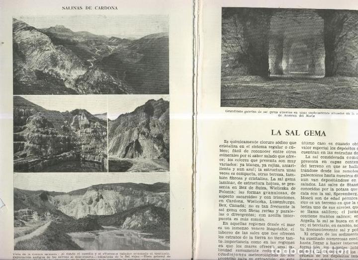 LA SAL GEMA (Coleccionismo - Laminas, Programas y Otros Documentos)