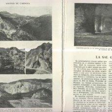 Coleccionismo: LA SAL GEMA. Lote 218781648