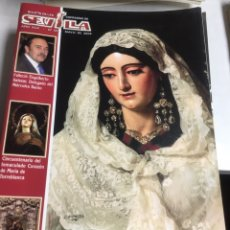 Coleccionismo: BOLETIN DE LAS COFRADIAS DE SEVILLA - Nº 591 - MAYO 2008. Lote 218781930