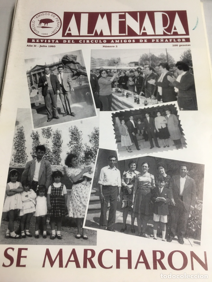 ALMENARA - REVISTA DEL CIRCULO AMIGOS DE PEÑAFLOR - Nº 2 - JULIO 1995 (Coleccionismo - Laminas, Programas y Otros Documentos)