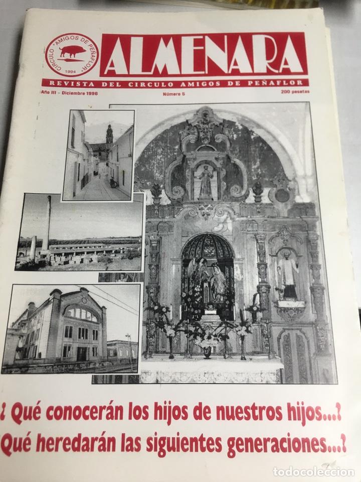 ALMENARA - REVISTA DEL CIRCULO AMIGOS DE PEÑAFLOR - Nº 5 - DICIEMBRE 1996 (Coleccionismo - Laminas, Programas y Otros Documentos)