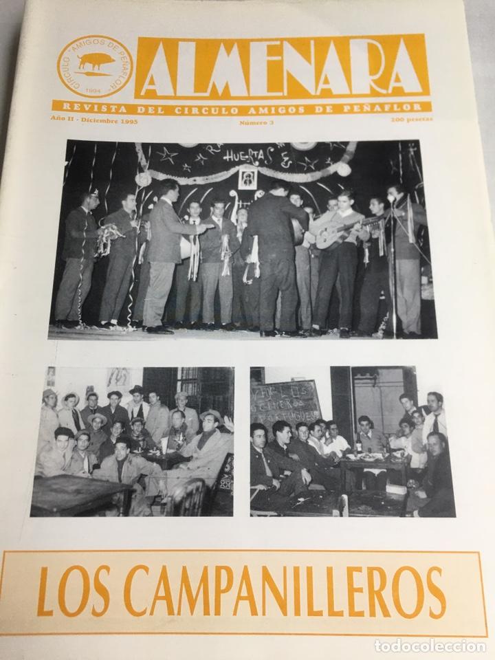 ALMENARA - REVISTA DEL CIRCULO AMIGOS DE PEÑAFLOR - Nº 3 - DICIEMBRE 1995 (Coleccionismo - Laminas, Programas y Otros Documentos)