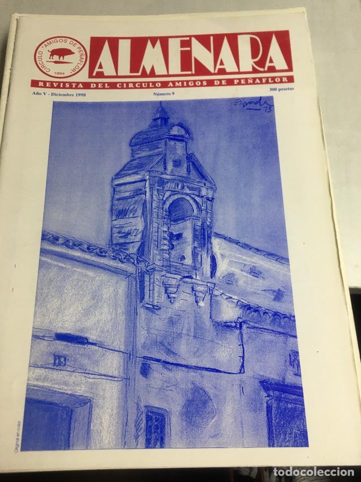 ALMENARA - REVISTA DEL CIRCULO AMIGOS DE PEÑAFLOR - Nº 9 - DICIEMBRE 1998 (Coleccionismo - Laminas, Programas y Otros Documentos)