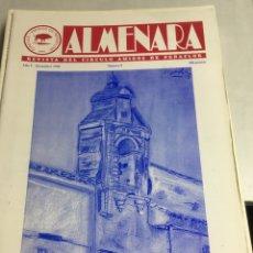 Coleccionismo: ALMENARA - REVISTA DEL CIRCULO AMIGOS DE PEÑAFLOR - Nº 9 - DICIEMBRE 1998. Lote 218786072