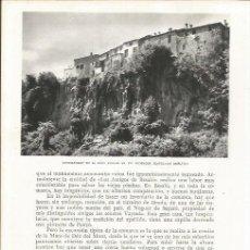 Coleccionismo: LAMINA 21588: CASTELLFOLLIT DE LA ROCA. Lote 218817595