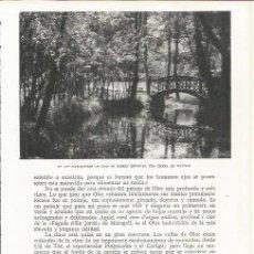 Coleccionismo: LAMINA 21591: ALREDEDORES DE OLOT. Lote 218817631