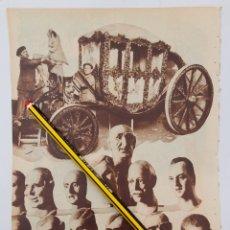 Colecionismo: PREPARANDO LAS FALLAS EN VALENCIA/ DISCURSO DEL SR. LERROUX EN BARCELONA. 1932. Lote 218871347